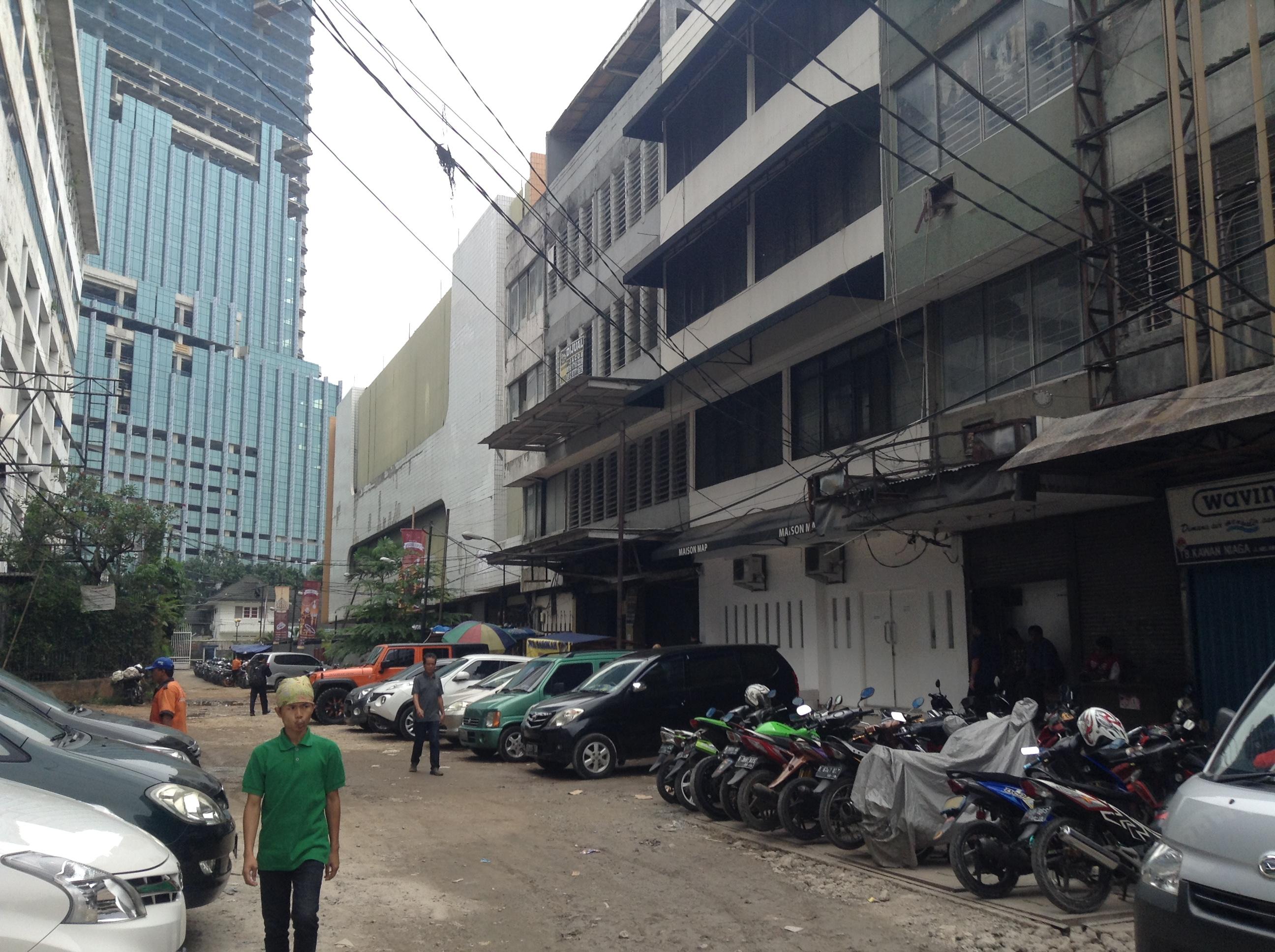 インドネシア ジャカルタの転職エージェント G.A.コンサルタンツのオフィス周辺