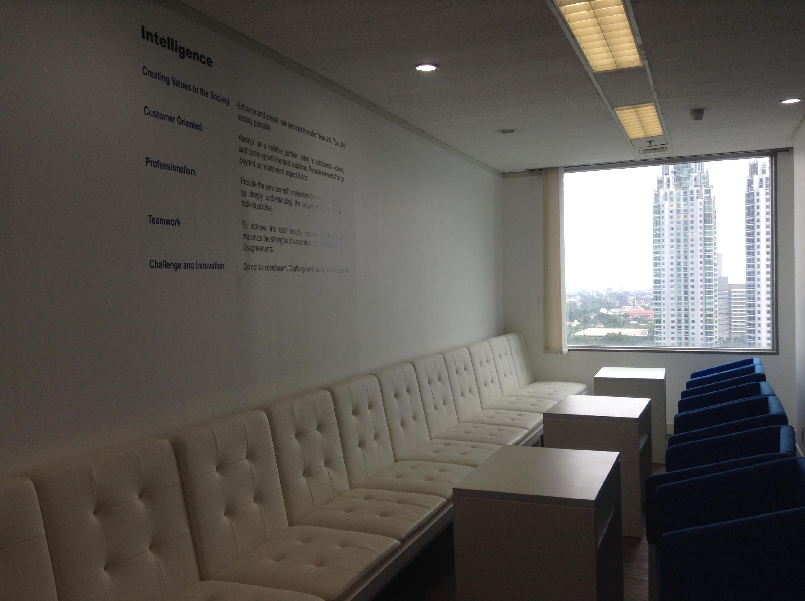 インドネシア ジャカルタの転職エージェント インテリジェンス社のオフィス