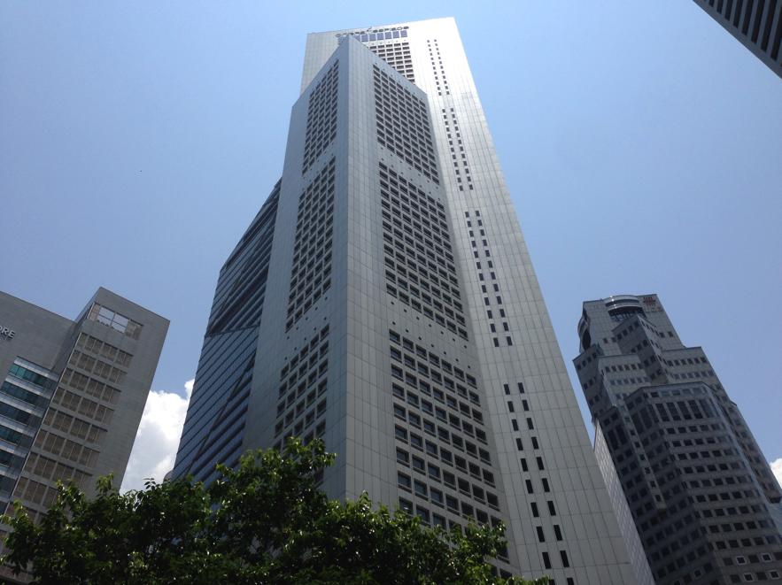 シンガポールの転職エージェント JAC Recruitmentが入居するビル
