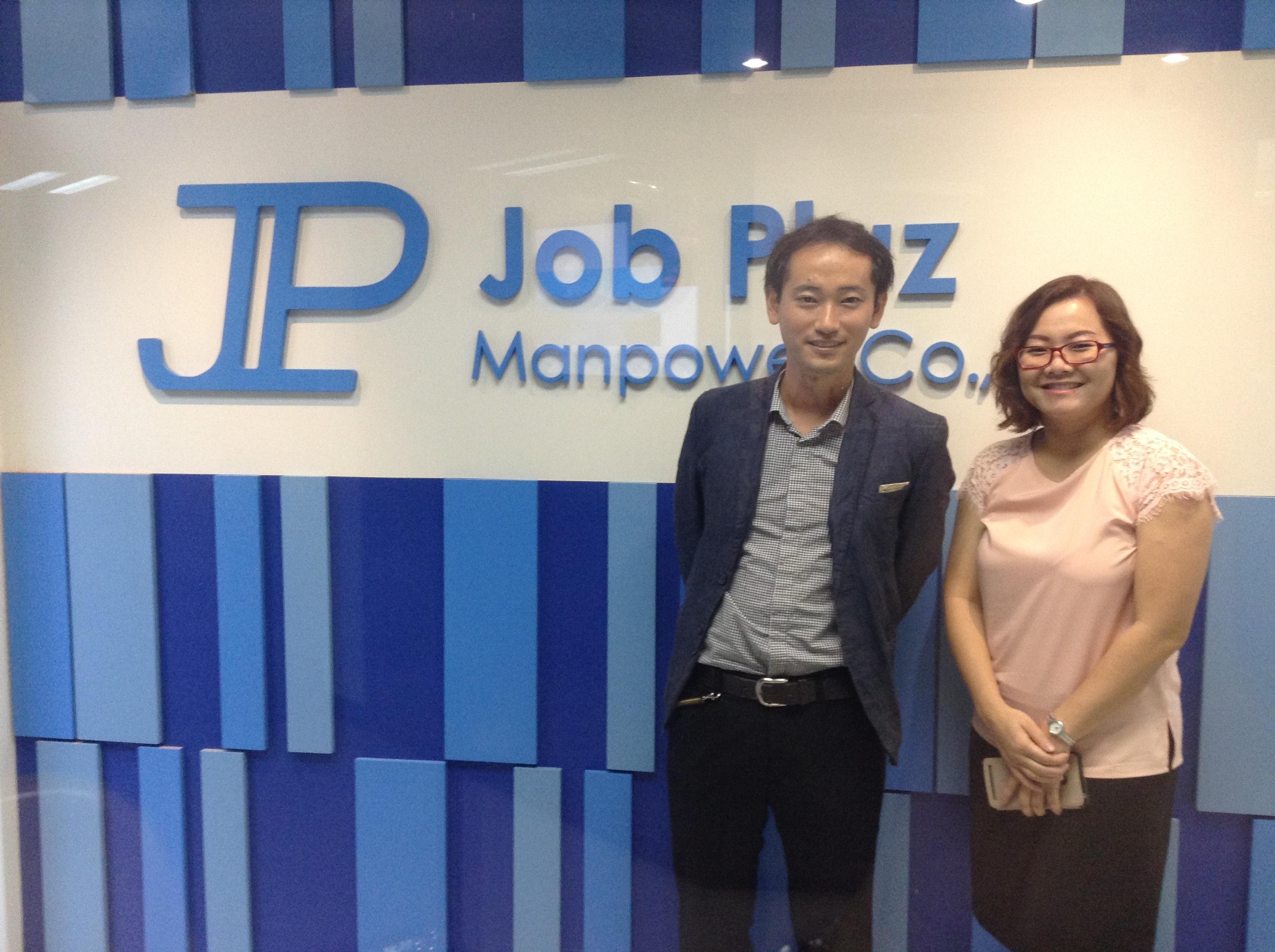 タイの転職エージェント Job Pluz Manpower 代表の方と
