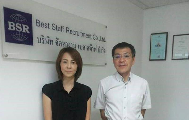 タイの転職エージェント Best Staff Recruitment メンバー
