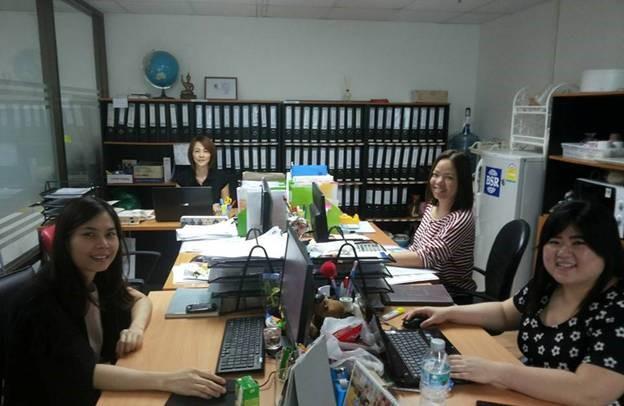 タイの転職エージェント Best Staff Recruitment 社内