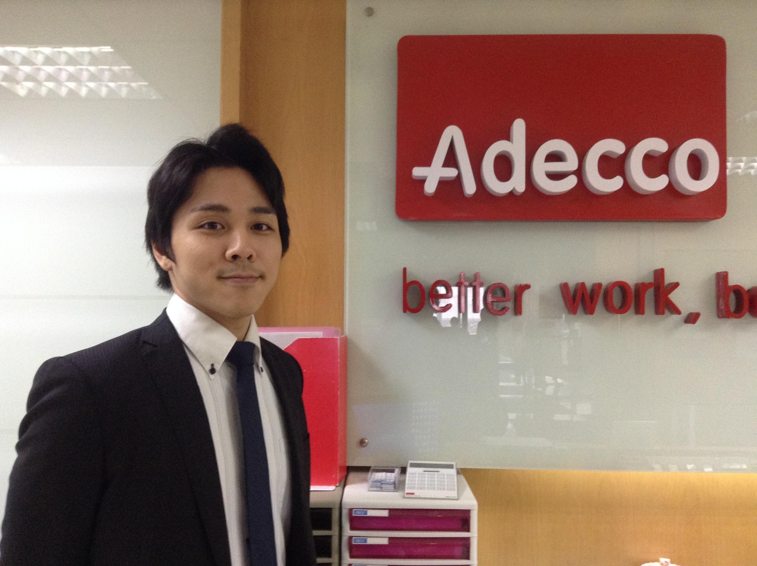 タイの転職エージェント Adecco(アデコ)の前田さん