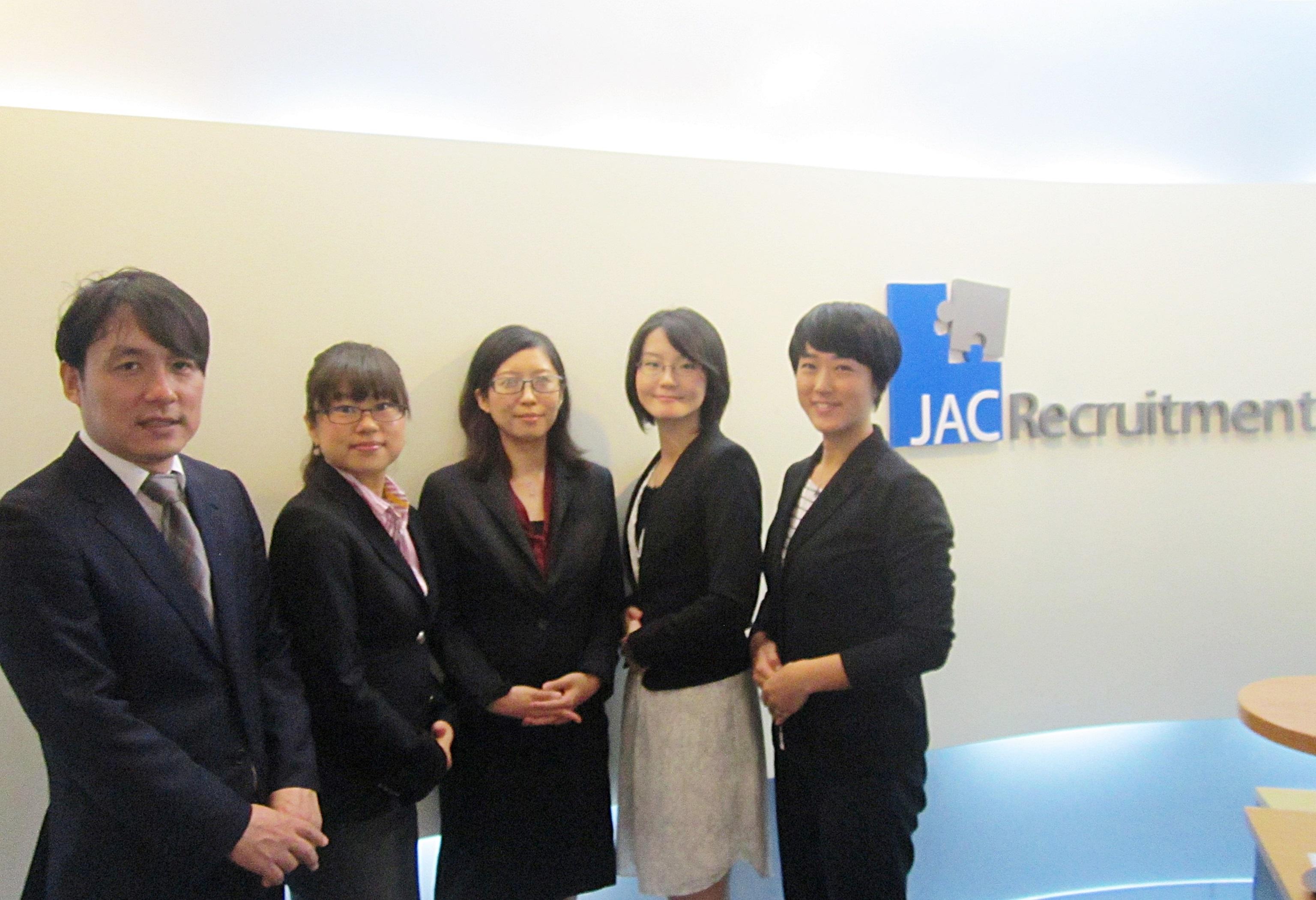 タイの転職エージェント JAC Recruitment 社員の方々