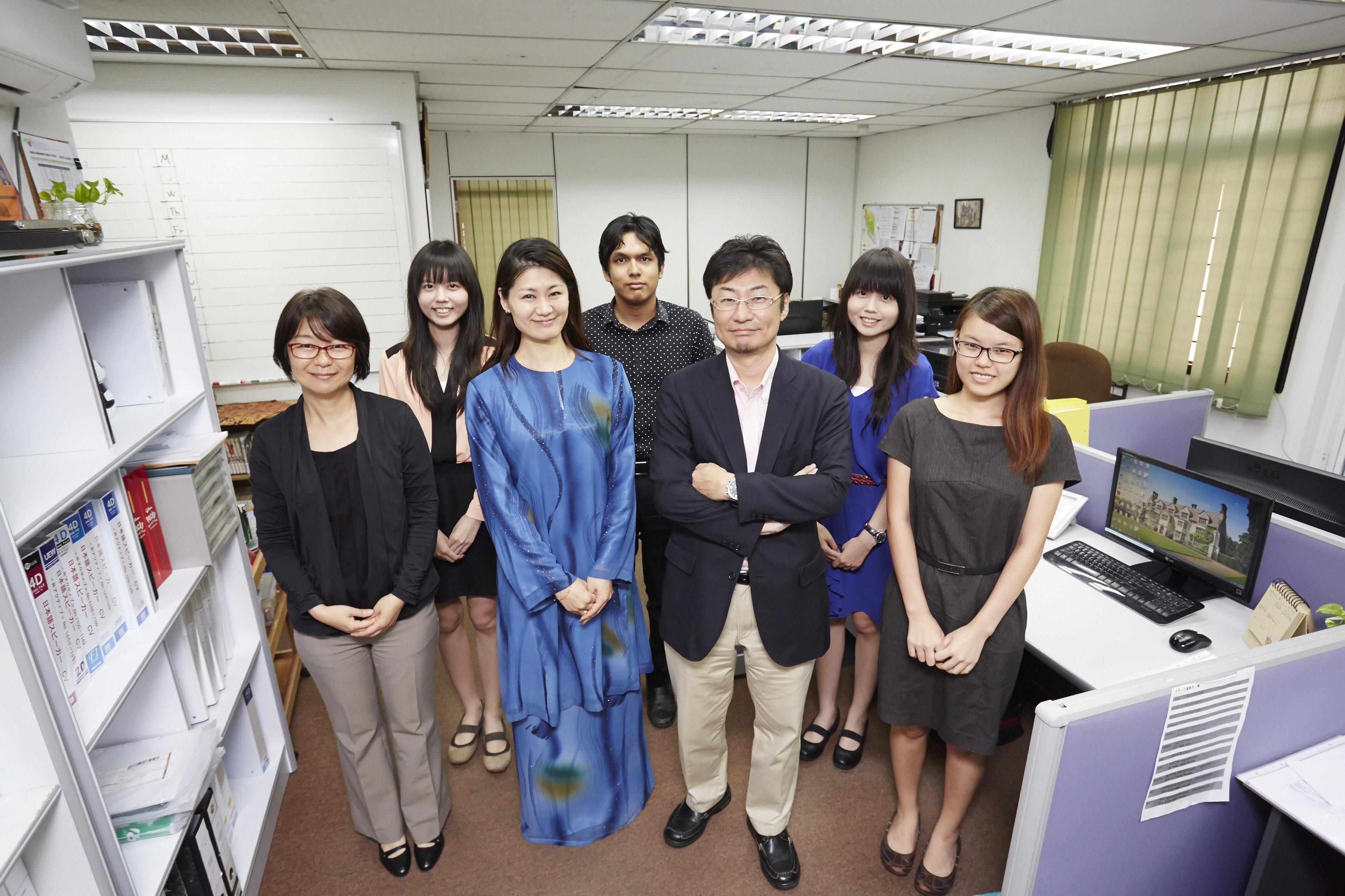 マレーシアの転職エージェント 桜リクルート社 社内の様子