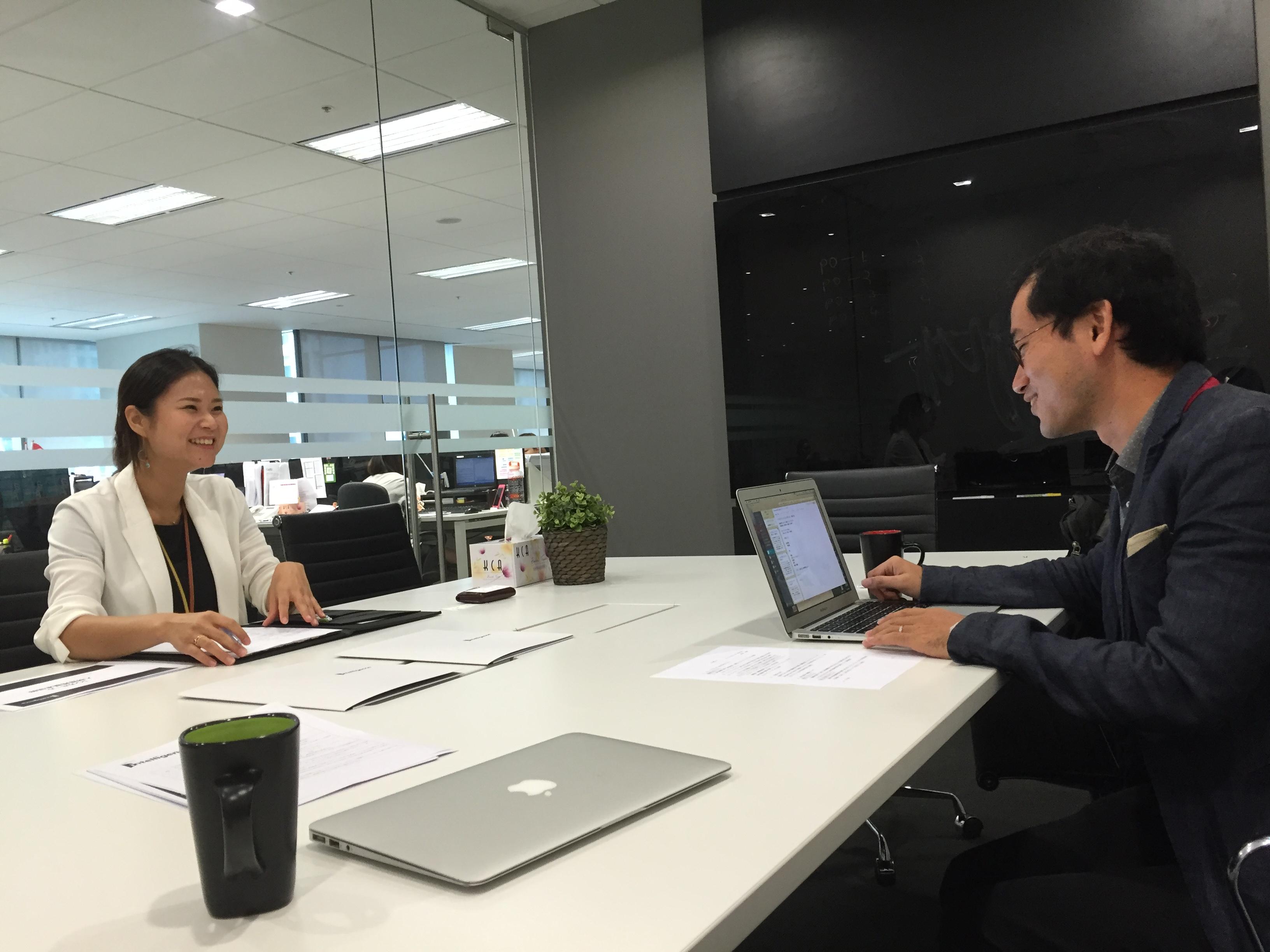 シンガポールの転職エージェント Intelligence社 谷本さん