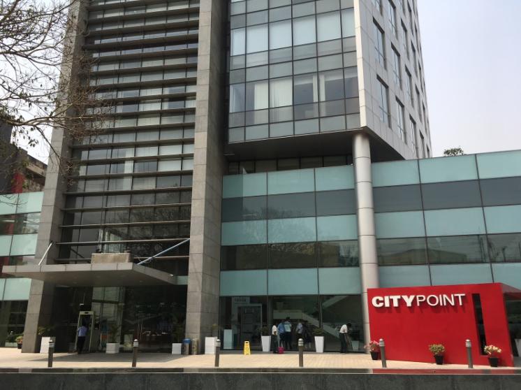 RGF HR Agent India が事務所を構える City Point