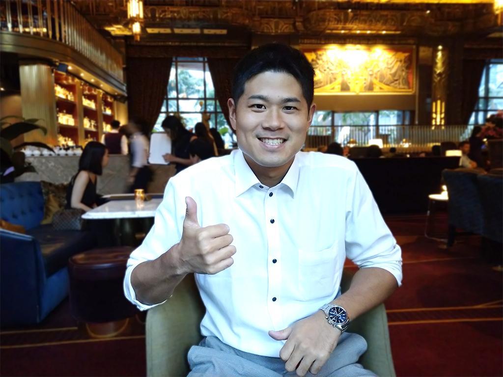 セブ留学を経てシンガポール就職に成功!上岡勇毅さん