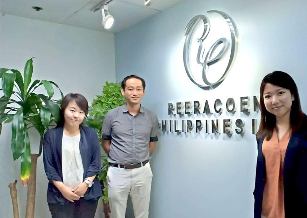 フィリピンの転職エージェント REERACOENに訪問